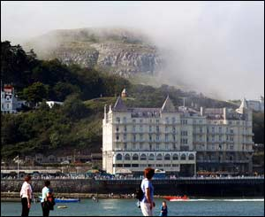 Mist on the Great Orm, Llandudno, sent by David Robinson,  Pantymwyn, near Mold