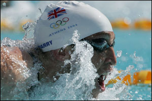 Parry qualifies for butterfly 200m semi-finals