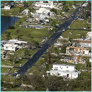 Hurricane Charley blasted its way through Florida causing $11bn (�6bn) worth of damage.