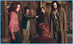 Scene from the third Potter film