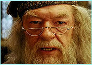 Dumbledore looks like he's got a few things on his mind!