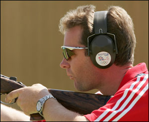 Richard Faulds - double trap shooting