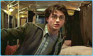 Harry on the Hogwarts express