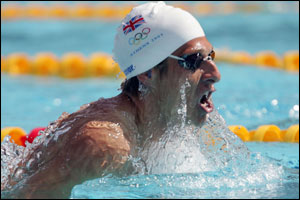 Chris Cook misses 200m breastroke final