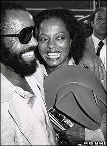 Diana Ross and Berry Gordy