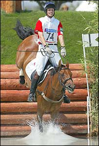 Fox-Pitt clears a fence with Tamarillo