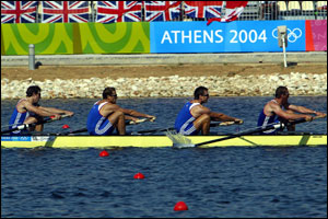 Gold in sight for coxless fours