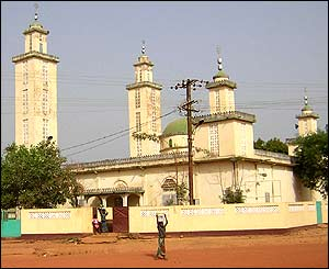 Mosque in Timbi Madana