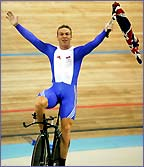 Chris Hoy emulated Jason Queally by winning the gold medal in Athens