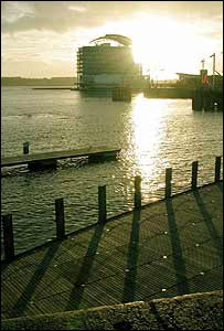 Cardiff Bay in the sun, from Christian Amodeo