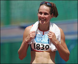 Kelly Sotherton narrowly misses out on silver