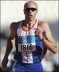 British decathlete Dean Macey