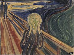 One of the four versions of The Scream