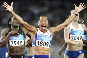 Overjoyed Holmes realises she is Olympic champion