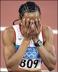 The achievement sinks in for Kelly Holmes