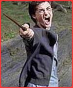 Harry does his patronus