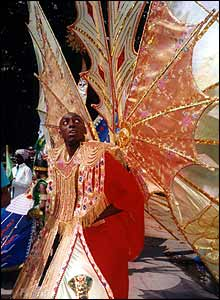 Costumed performer from 2000