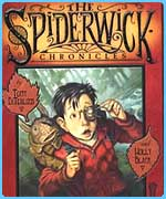 Jared on the cover of book two in the Spiderwick Chronicles, called The Seeing Stone