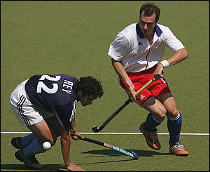 Britain's men's hockey team beat Argentina