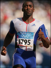 Darren Campbell fails to make the 200m final