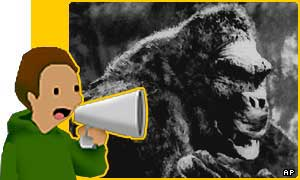Is King Kong the best movie monster ever?