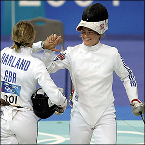 Georgina Harland and Kate Allenby