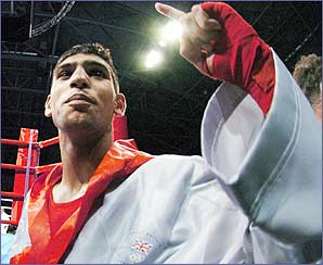 Amir is guaranteed an Olympic silver