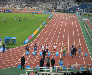 Men's 100m semi finals