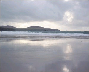 Whitesands Bay in Pembrokeshire in the late afternoon (Tony Peters, Cardiff)