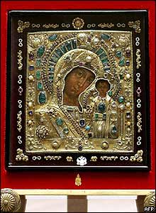 Virgin of Kazan icon