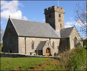 This photograph of Coity Church near Bridgend was taken by Anthony Green of Brackla Bridgend.