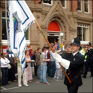Members of the Gay Police Association at Manchester Pride