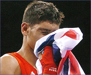 Amir fails to strike gold this time, and has to settle for a silver medal instead