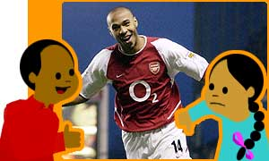 Is Thierry Henry your player of the year?