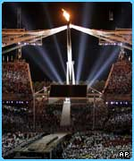 The spectacular closing ceremony