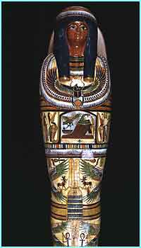 Mummy casket (picture credit - SGI Silicon Graphics)