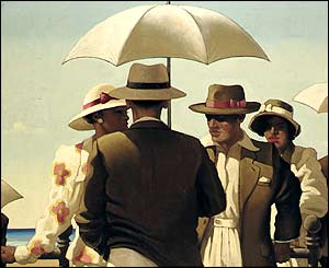 Vettriano's Incident On The Promenade