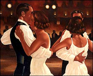 Vettriano's In The Heat Of The Night