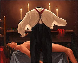 Vettriano's Study For The Administration of Justice