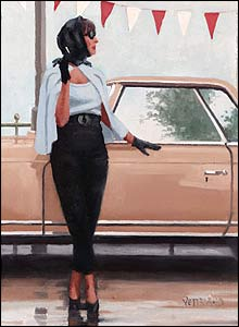 Vettriano's Study For Suddenly One Summer