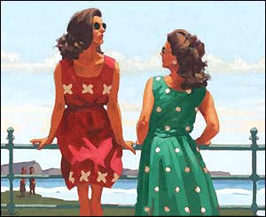 Vettriano's Study For Something In The Air