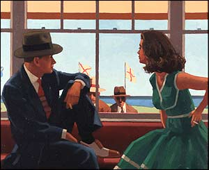 Vettriano's Study For Edith And The Kingpin