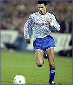 A young Ryan Giggs in action