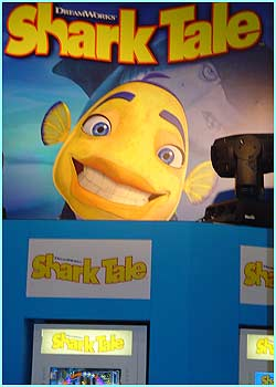And there was also a preview of the Shark Tale game, to accompany the new film voiced by Will Smith out in October.