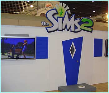 Gamers got a sneaky peek and play on the eagerly awaited Sims 2 game at Game Stars Live in London.Gamers got a sneak peek and play on the eagerly awaited Sims 2 game at Game Stars Live in London.