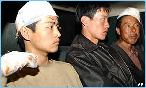 Chinese hostages have been freed