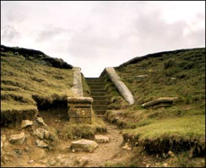 Vicky Petersen took this picture of these ancient steps at Ogmore-by-sea