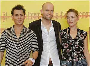 Johnny Depp, Mark Forster, Kate Winslet