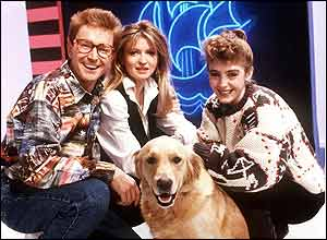 Mark Curry, Caron Keating, Yvette Fielding