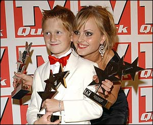 Samuel Aston and Tina O'Brien